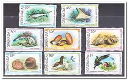 Grenada, Postfris MNH, Marine Wildlife, Fish, Shells, Birds - Grenada (1974-...)
