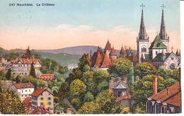 Suisse - CPA - Neuchâtel - Le Château - NE Neuchâtel