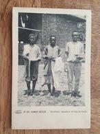 Congo Belge - Cuisinier, Lavadere Et Boy De Table - Attention Fente De 2.5 Cm - Magis éditeur - DA - Congo Belga - Otros