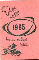 AGENDA 1965 - Calendriers