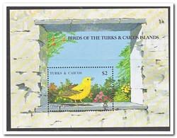 Turks & Caicoseilanden 1990, Postfris MNH, Birds - Turks- En Caicoseilanden