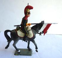 FIGURINE STARLUX Cavalier Empire C 081 CHEVAU-LEGERS COMPAGNIE D'ELITE 6è REGIMENT 1811 - 1815 (1) Plastique 1/32èm - Starlux