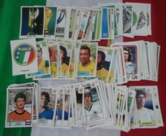 Panini FIFA World Cup  Story 1990  FAST COMPLETE SET 219/228 Stickers Copa Del Mondo; World Cup Finalists - Sport