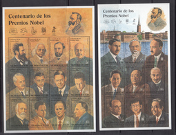 Nicaragua MNH Michel Nr 3644/64 From 1995 / Catw 20.00 EUR - Nicaragua