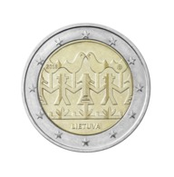 NEU Litauen 2018 2 EURO Münzen  Coin Liederfest Lied Fest Song Festival  UNC - Litouwen
