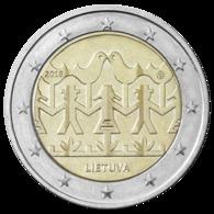 NEU Litauen 2018 2 EURO Münzen  Coin Liederfest Lied Fest Song Festival  25 Coins = 1 Rolle UNC - Rollos