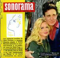 Sonorama N° 10 (juillet 1959) : Bardot Et Charrier - Formatos Especiales