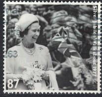 Royaume Uni 2012 Oblitéré Used Queen Reine Elizabeth II Silver Jubilee Jubilé D'Argent - 1952-.... (Elizabeth II)