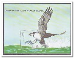 Turks & Caicos 1990, Postfris MNH, Birds, Fish - Turks- En Caicoseilanden