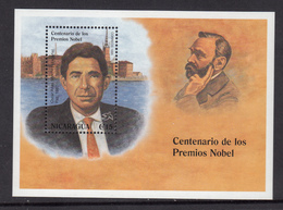 Nicaragua MNH Michel Nr Block 248 From 1995  / Catw 6.50 EUR - Nicaragua