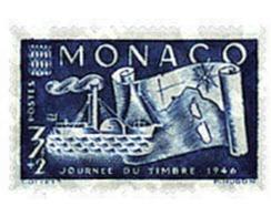 Ref. 32407 * MNH * - MONACO. 1946. STAMP DAY . DIA DEL SELLO - Ships