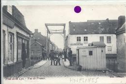 NORD - 59 - HOUPLINES - Pont De La Lys - Poste De Douane - Vue De France - Dogana