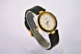 Watches : PIERRE BALMAIN PARIS MEN GOLD PLATED- Original - Swiss Made - Running - Excelent Condition - Horloge: Modern