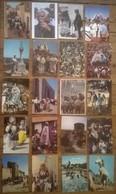 Lot De 20 Cartes Postales CAMARGUE / GITANS / Saintes Maries De La Mer / Chevaux / Guardians - Europe