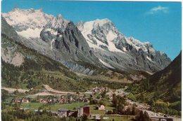 Courmayeur Entrèves. Panorama. VG. - Italia