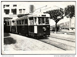 PHOTOGRAPHIE REELLE ANCIENNE : ALGER < TRAMWAY R S T A  (suppression 1957-1958) - Africa