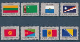 United Nation New York MNH Michel Nr 797/04 From 1998 / Catw 8.00 EUR - New York - Hoofdkwartier Van De VN