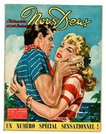 """Revue Vintage """"Nous Deux"""" - N° 420 - Le Chant Des Flots Bleus... - 1955 - Andere"""