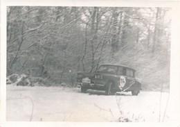Photo Originale - Voiture :  Citroën AMI 8 - Rallye De Lorraine - Automobiles