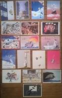 Lot De 18 Cartes Postales Illustrateur BLACHON - Contemporain (à Partir De 1950)
