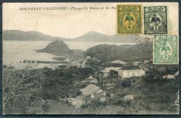 1912 New Caledonia Postcard, Yokohama Maseille Paquebot - Paris. Ship NERA - New Caledonia