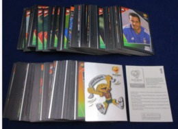 Panini UEFA EURO 2004 Football Soccer - COMPLETE SET 334 STICKERS - BLACK BACK SIDE - Sports
