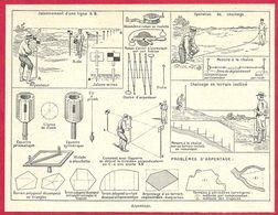 Arpentage, Larousse 1951 - Vieux Papiers