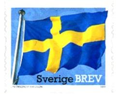 Ref. 259507 * MNH * - SWEDEN. 2011. NATIONAL FLAG . BANDERA NACIONAL - Flags