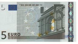 "5 EURO  ""P""  Olanda     Firma Trichet     E 003 H5  /  FDS - UNC - 5 Euro"