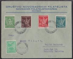 Yugoslavia, Sokol Zagreb, Cover, Mailed In August 1934 - 1931-1941 Koninkrijk Joegoslavië