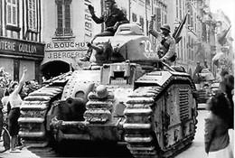 WW2 -  Char B1 Bis Des Forces Françaises De L'intérieur (FFI) - 1939-45