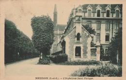 92 - MEUDON - L' Orphelinat Saint Philippe - Meudon