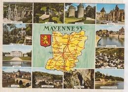 8AK1390 MAYENNE Geographique Multi Vues EDT ARTAUD  2 SCAN - France