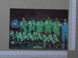 SELEÇÃO NACIONAL DA NIGÉRIA - FUTEBOL - 2 SCANS  - (Nº23658) - Fussball