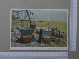 ESQUADEA DE TELEGRAFISTAS - FOTO PK KOLTZENBURG - 2 SCANS  - (Nº23661) - Guerre 1939-45