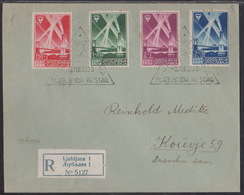 Ljubljana Philatelic Exhibition, 1939, Commemorative Cancellation - 1931-1941 Kingdom Of Yugoslavia
