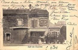 Alle Sur Semois - Café Des Touristes (animée, Nels, 1908) - Vresse-sur-Semois