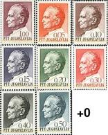 Ref. 293882 * MNH * - YUGOSLAVIA. 1967. 75 ANIVERSARIO DEL MARISCAL JOSIP BROZ TITO - Unused Stamps