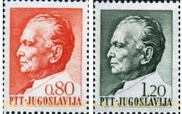 Ref. 294179 * MNH * - YUGOSLAVIA. 1972. 75 ANIVERSARIO DEL MARISCAL TITO - Unused Stamps