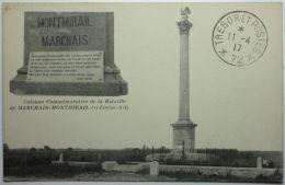 MARCHAIS-MONTMIRAIL Colonne Commémorative De La Bataille (11 Fév. 1814) - Montmirail