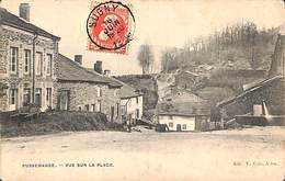 Pussemange - Vue Sur La Place (Edit. V. Caën, 1909) - Vresse-sur-Semois