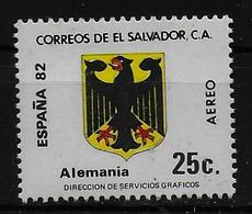 SALVADOR    PA  (  Allemagne     ) * *     Cup 1982     Football  Soccer Fussball Armoiries - 1982 – Espagne