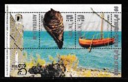 ISRAEL, 1999, Mint Never Hinged Stamp(s), In Miniature Sheet, Australia,  M Bl062, X825, - Israel