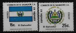 SALVADOR    PA  (  Salvador ) * *     Cup 1982     Football  Soccer Fussball   Drapeaux  Armoiries - World Cup