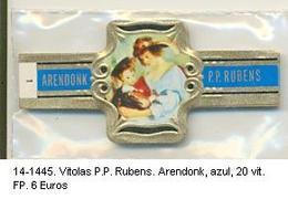 Vitolas P.P. Rubens. Arendenk Azul. F.p.- REF. 14-1445 - Vitolas (Anillas De Puros)