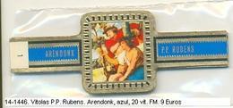 Vitolas P.P. Rubens. Arendenk Azul. F.m.- REF. 14-1446 - Vitolas (Anillas De Puros)