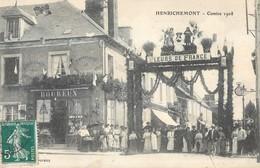 HENRICHEMONT COMICE 1908 FLEURS DE FRANCE 18 - Henrichemont