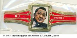 Vitolas Roquende Jan. Haway 5-0. F.m.- REF. 14-1453 - Vitolas (Anillas De Puros)