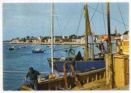 ILE-TUDY--1978--Le Port  (animée ,bateau De Pêche ) - Ile Tudy