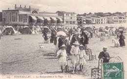 PONTAILLAC - La Restauration Et La Plage - France
